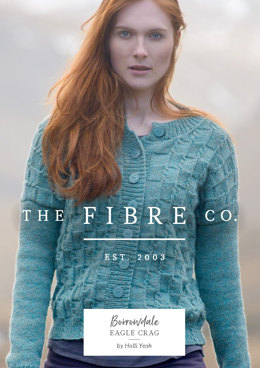 Eagle Crag Cardigan in The Fibre Co. Lore - Downloadable PDF