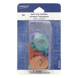 Unique Split Ring Markers / 24 - Plastic