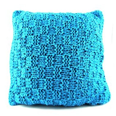 Knit A Colourful Cushion in Hoooked Ribbon XL Solids