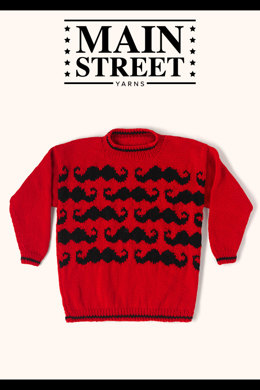 Ringmaster Sweater in Main Street Yarns Shiny & Soft - Downloadable PDF