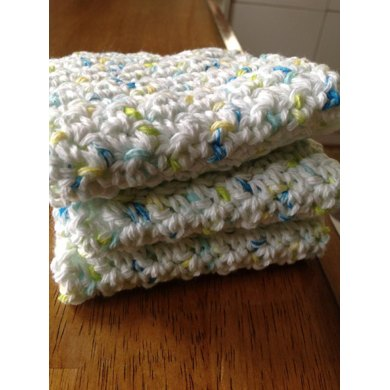 Quick and Super Easy Dishcloth