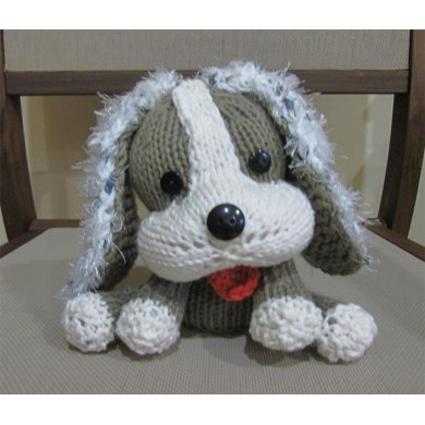 Knitkinz Dog for Your Office