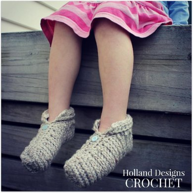 Chunky Ribbed Slippers - Toddler and Youth