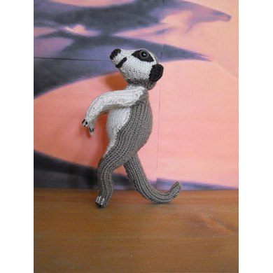 The Meerkat Family Toy Knitting Pattern Knitting Pattern By