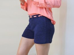 Strickanleitung - Shorts - kurze Hose - DARK BLUE – No.171