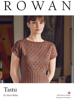 Tastu Top in Rowan Softyak DK - Downloadable PDF