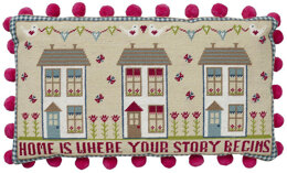 Historical Sampler Company Home is Where Your Story Begins Tapestry Kit - 49 x 28 cm