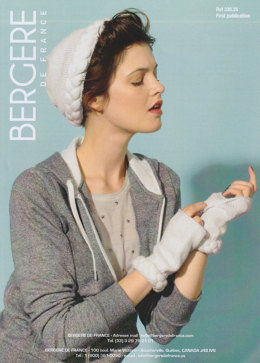 Hat and Mitts in Bergere de France Ideal - 33625
