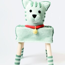 Rico Stool Covers - 6 Four-Legged Friends to Crochet