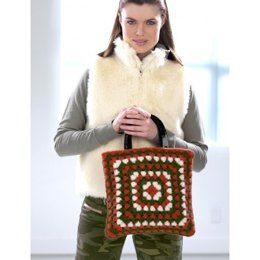 Funky Felted Granny Bag in Patons Classic Wool Worsted