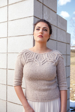 Forster Sweater in Berroco Flicker - NG13-5