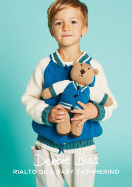 Billy Jacket and Buddy Bear - Knitting Pattern in Debbie Bliss Rialto DK & Baby Cashmerino