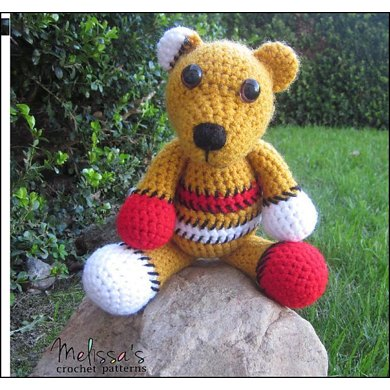 Benny the Patchwork Bear