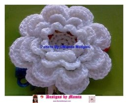 Crochet Rose Pattern Easy Large Flower