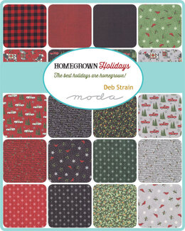 "Moda Fabrics Homegrown Holiday 2.5"" Strip Roll"