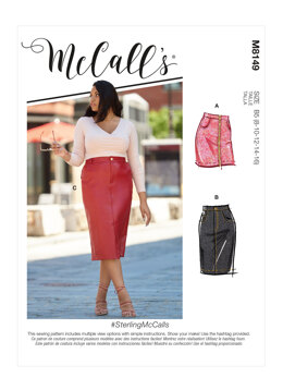 McCall's Misses' & Women's Skirts M8149 - Sewing Pattern