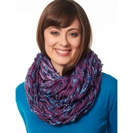 Arm Knit Cowl in Bernat Softee Chunky and Bargello
