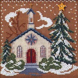 Mill Hill Country Church Cross Stitch Kit