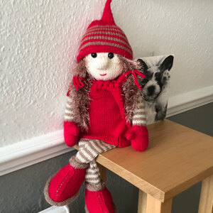 Gnorse And Gnilla The Gnomes Knitting Pattern By Pat Alinejad