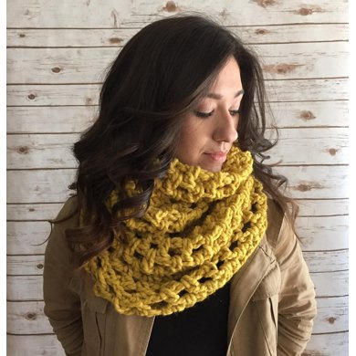 Oversized Infinity Scarf Cowl Crochet Pattern By Michele C