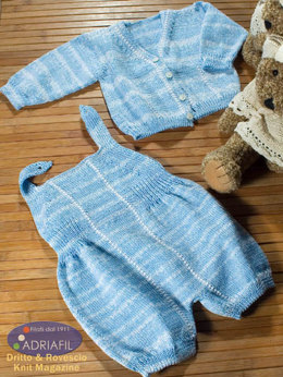 St. Thomas Baby Set in Adriafil Biglia & Uno a Ritorto 5 - Downloadable PDF