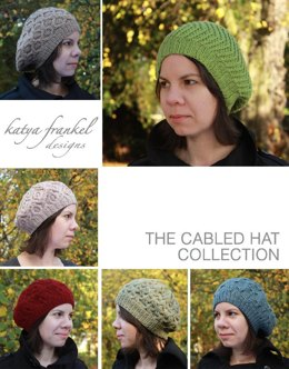 Cabled Hat Collection (6 patterns)