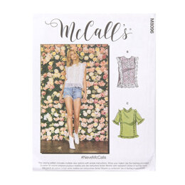 McCall's Misses' Tops M8096 - Sewing Pattern