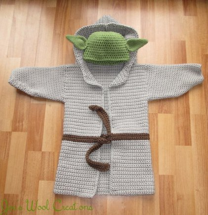 Yoda Jacket Hat Crochet Project By Joeanne S Lovecrochet