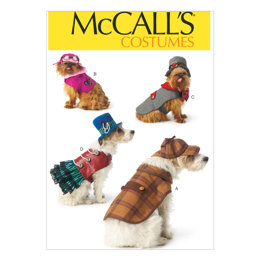 McCall's Pet Costumes M7004 - Paper Pattern Size All Sizes In One Envelope