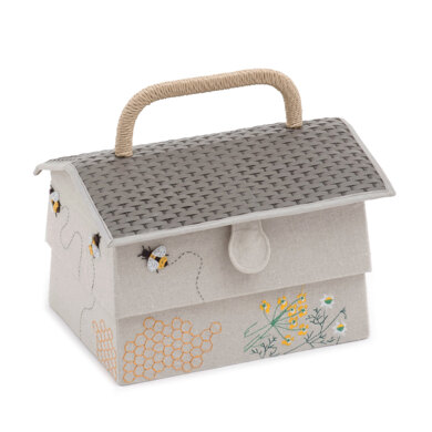 Groves Bumble Bee Hive Sewing Box