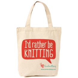 LoveKnitting Cotton Tote Bag
