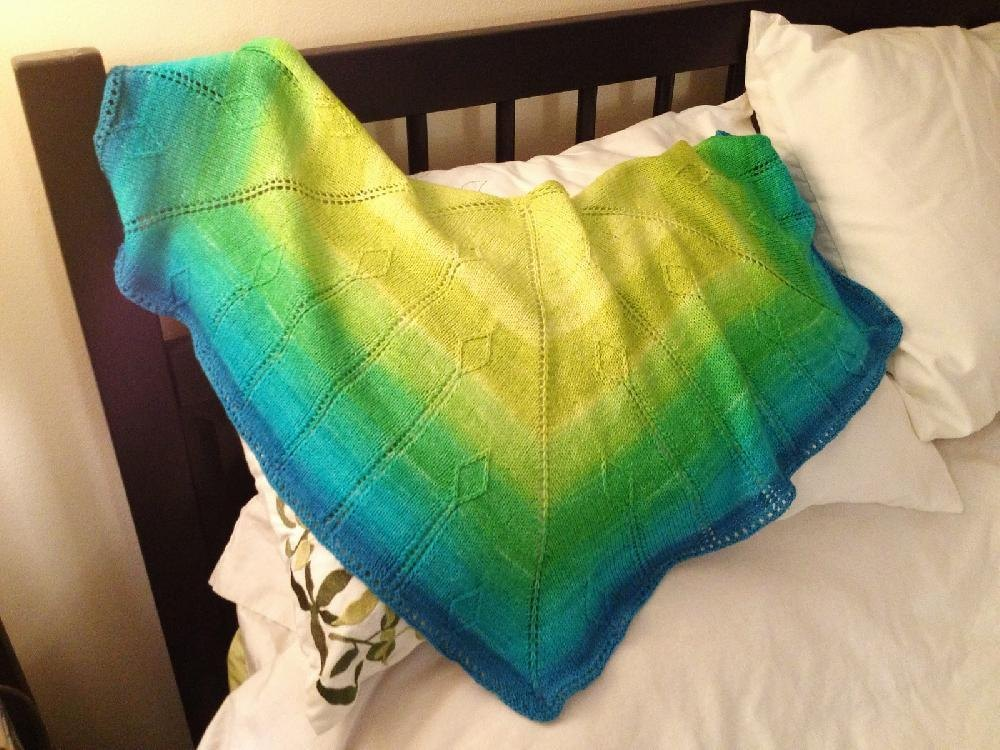 Dragons Tail Knitting pattern by Kari Verge Knitting ...