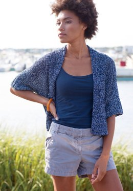 Alfama Cardigan in Berroco Regatta - 396-6