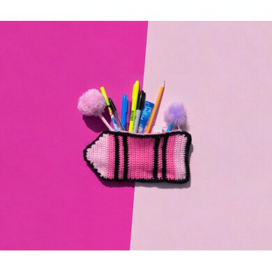 Crayon Pencil Case