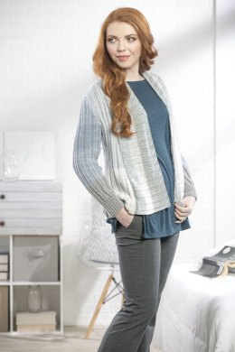Silver Birch Cardigan in Premier Yarns DK Colours - Downloadable PDF