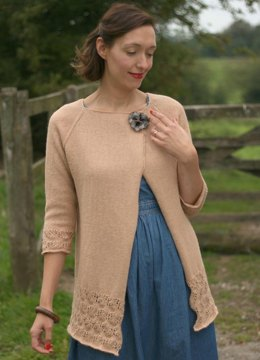 Asthall Cardigan in Susan Crawford Excelana 4 Ply