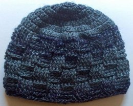 Meandering Walk in the Woods Basketweave Beanie