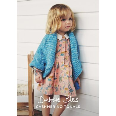 Molly Jacket in Debbie Bliss Baby Cashmerino Tonals - DBS076 - Downloadable PDF