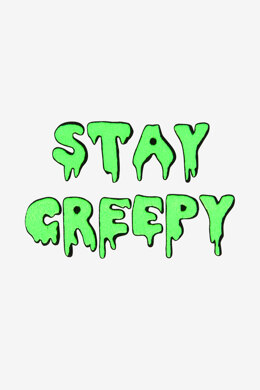 DMC Stay Creepy - PAT0798 - Downloadable PDF
