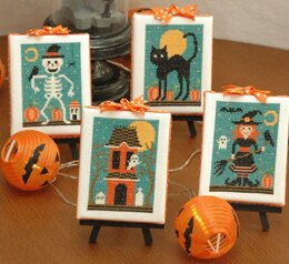 Tiny Modernist Halloween Cuties - Leaflet