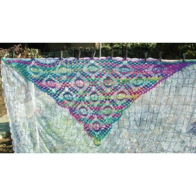 Peace Sign Shawl