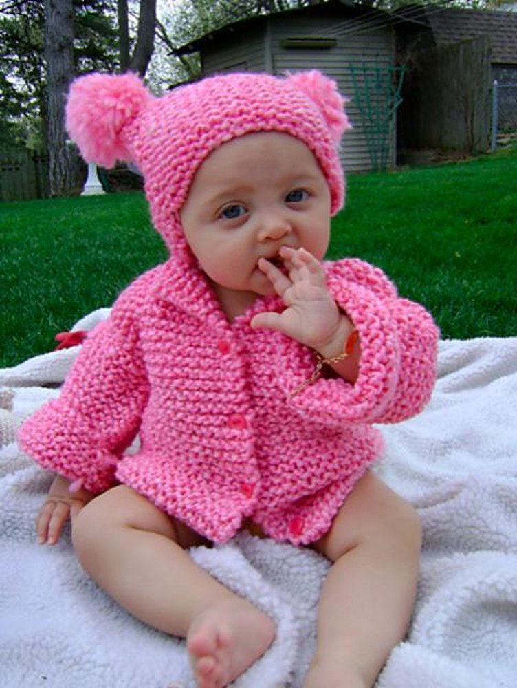 Knitting Patterns For Babies Loveknitting : Babys Coat & Hat Set Knitting pattern by Creative Designs by sheila ...