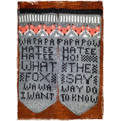 Fox Mittens What the fox say