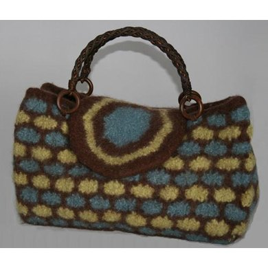 Fashionista Felted Bag