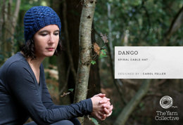 Dango Hat by Carol Feller - Knitting Pattern For Women in The Yarn Collective