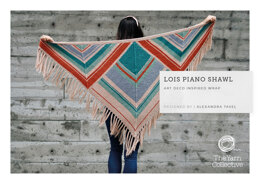 Lois Piano Shawl by Alexandra Tavel in The Yarn Collective - Downloadable PDF