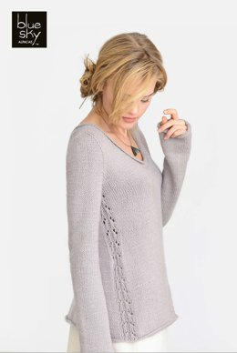 Norwood Pullover in Blue Sky Fibers - 20154 - Downloadable PDF