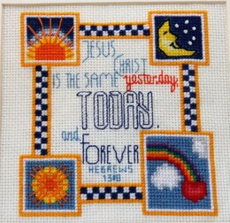 Luhu Stitches Sun and Moon Sampler - Downloadable PDF