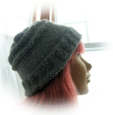 Super simple square-top alpaca hat Knitting pattern by Impeccable Knits