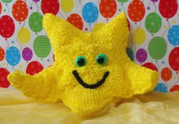 NURSERY STARFISH TOY KNITTING PATTERN - MADMONKEYKNITS